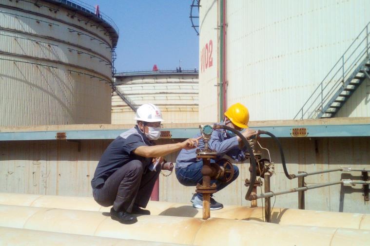 莱州港某物流企业罐区防爆电气检查